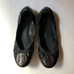 Tory Burch Caroline Flats Patent Leather